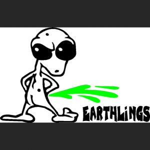Alien Peeing 1