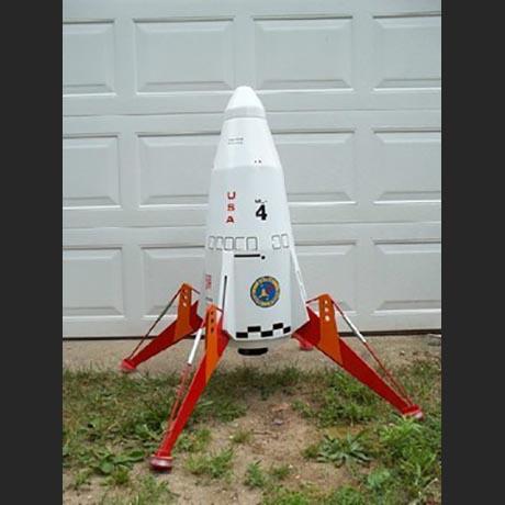 Estes Mars Lander - STICKERSHOCK23.COM