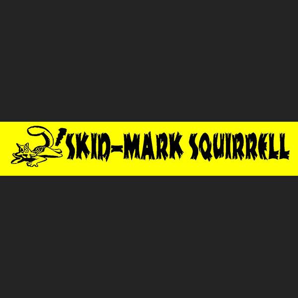 AMW Skidmark Squirrel - Stickershock23.com