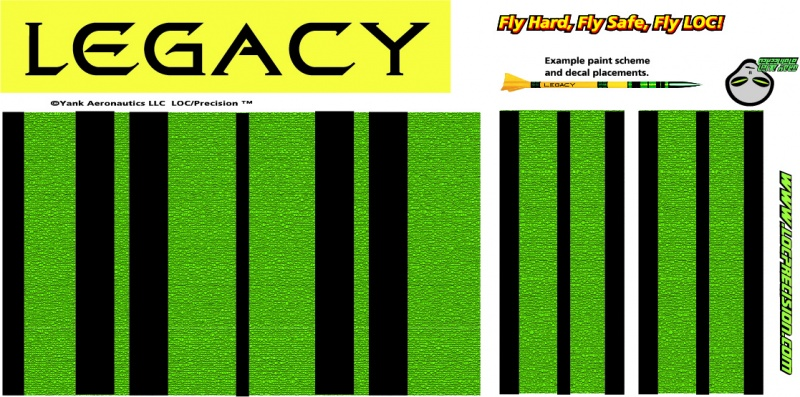 PK-08 LOC Legacy - STICKERSHOCK23.COM